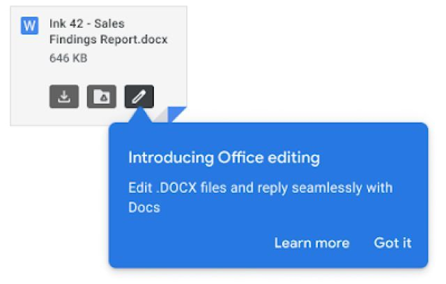 Google Gmail Microsoft Office編輯