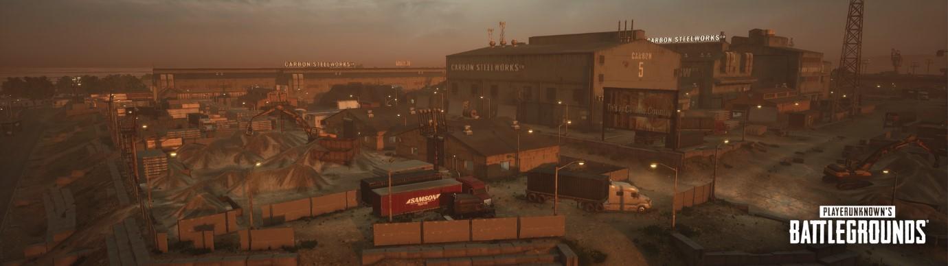 碳鋼廠 (Carbon Steelworks):位於地圖中央的一個高聳建築。佔據高處以獲得有利的優勢點,利用您的緊急降落傘快速降至地面。