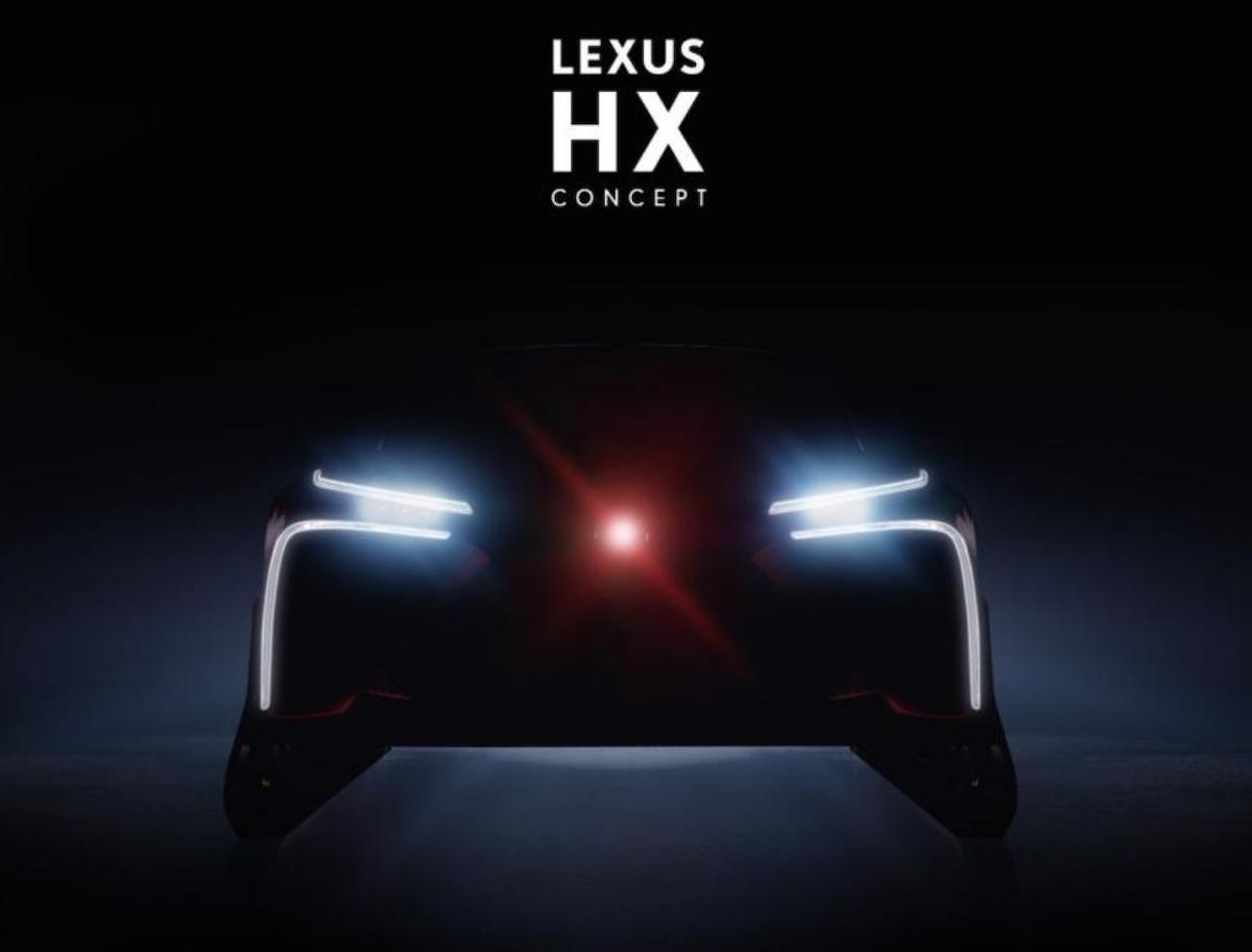 Lexus 公布 HX Concept 預告圖。