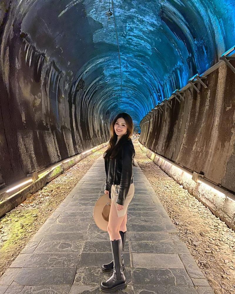 ▲銅鑼周邊景點推薦-功維敘隧道。 (圖/sally7968, Instagram)
