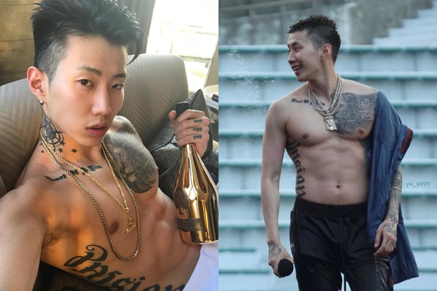 擁有性感肌肉身材的韓國饒舌歌手Jay Park朴載範