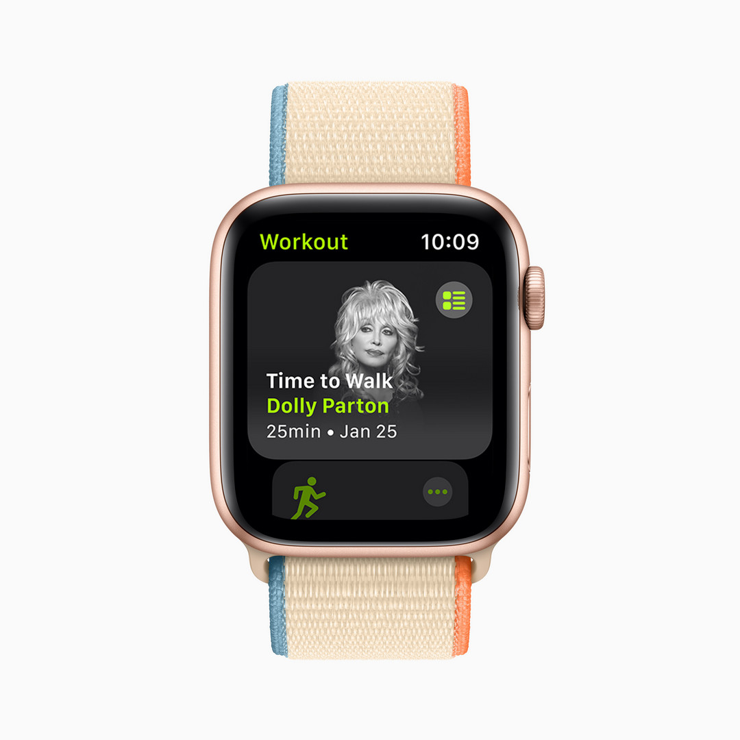 Apple Time to Walk Fitness+