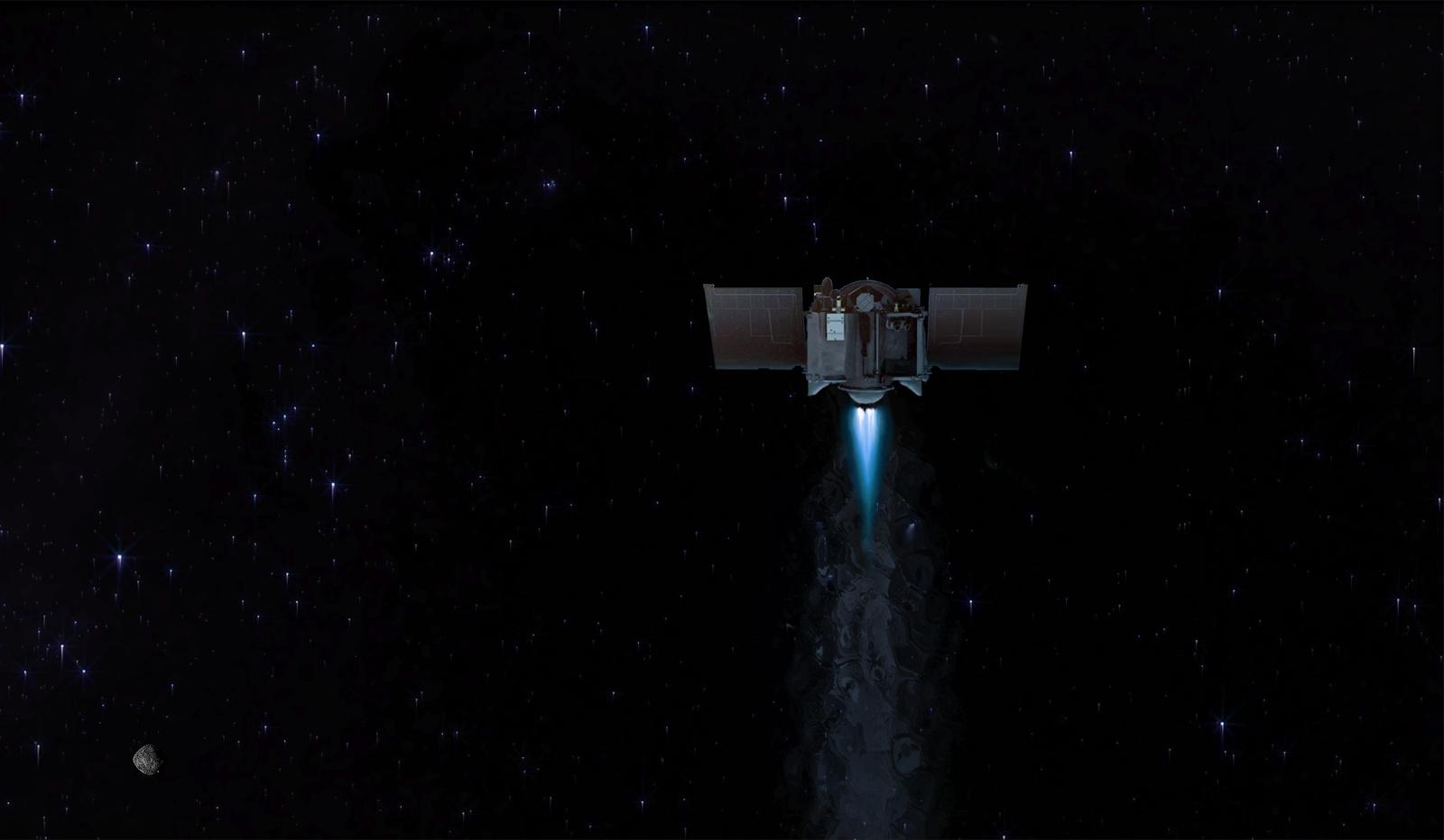 NASA's asteroid-sampling OSIRIS-REx probe will head back to Earth in May - Yahoo Tech