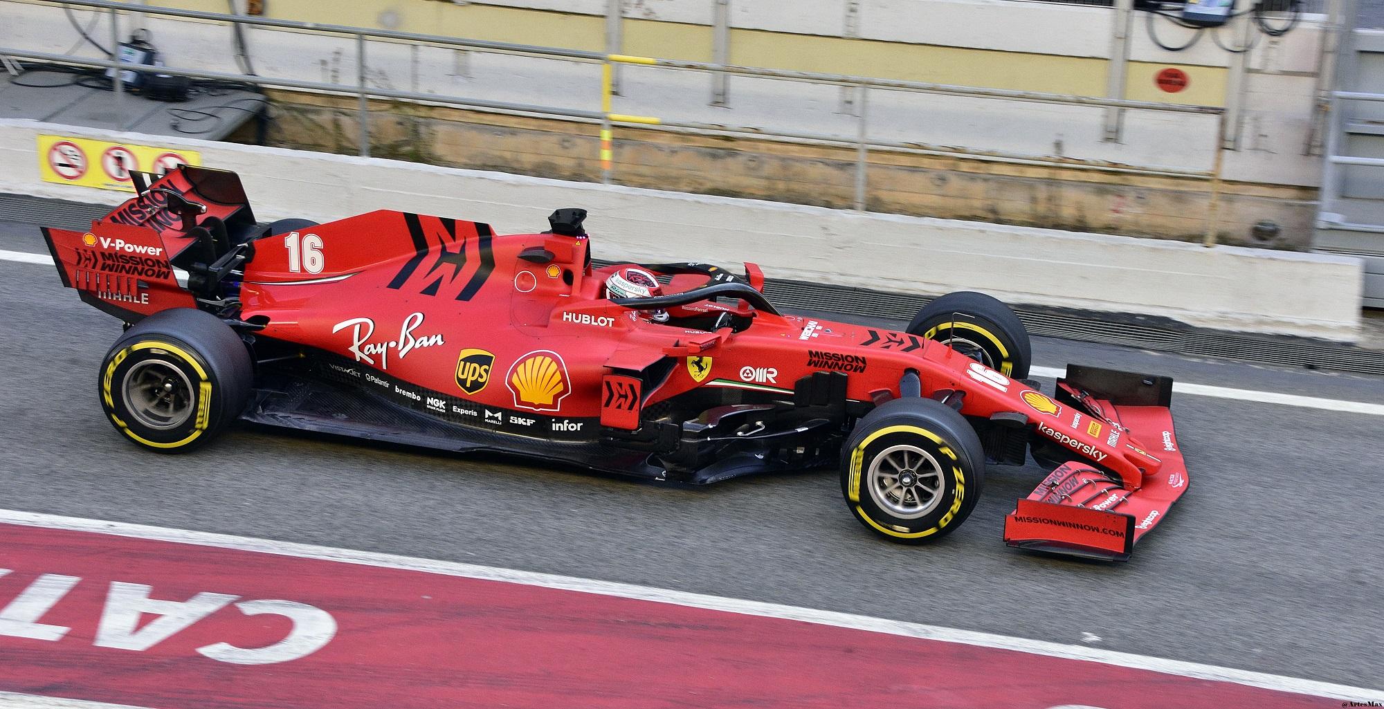 2020 Scuderia Ferrari 一級方程式的賽車SF1000