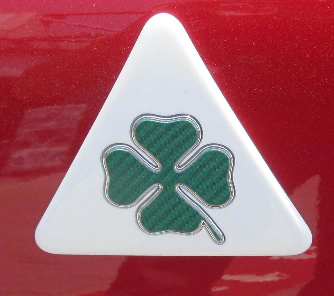 Alfa Romeo的四葉草Quadrifoglio