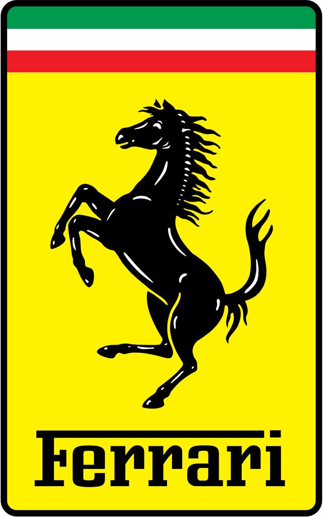 法拉利的官方註冊商標