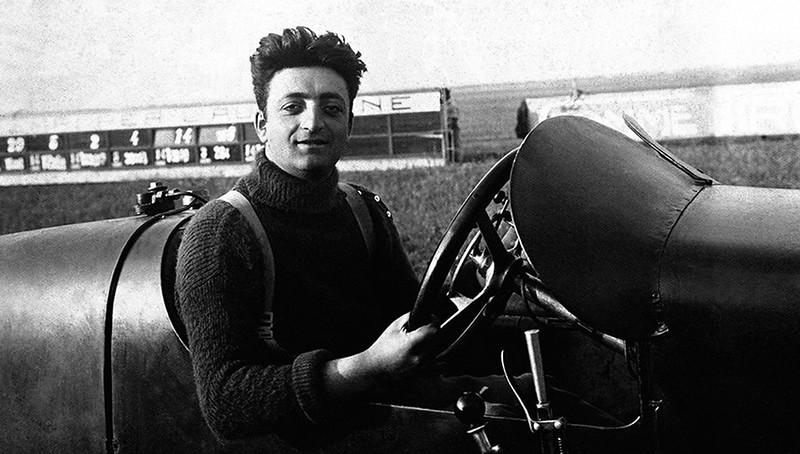Scuderia Ferrari車隊時期,Enzo Ferrari駕駛Alfa Romeo賽車