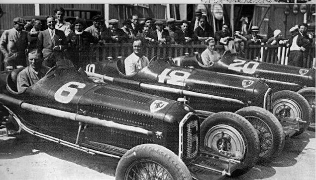 Scuderia Ferrari車隊時期,Alfa Romeo的車隊