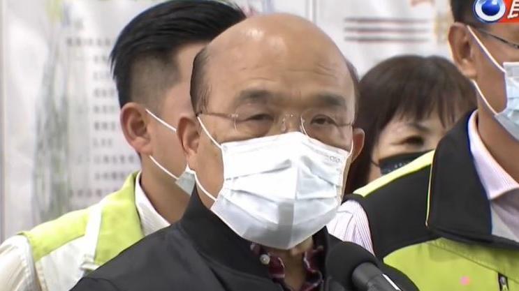 邱淑媞轟防疫欠缺邏輯 蘇揆:不缺口水風涼話