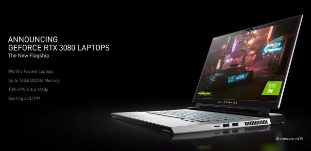 NVIDIA GeForce RTX30 Laptops