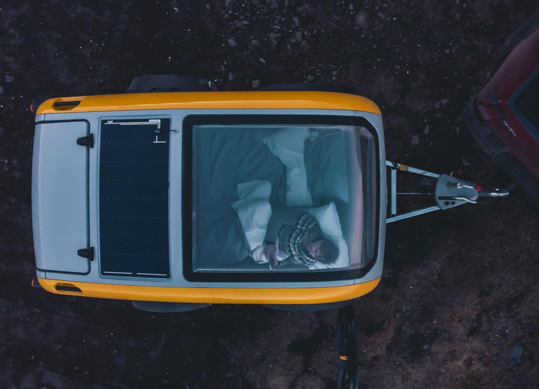 超可愛北歐露營小拖車上市─Mink 2.0 Sports Camper