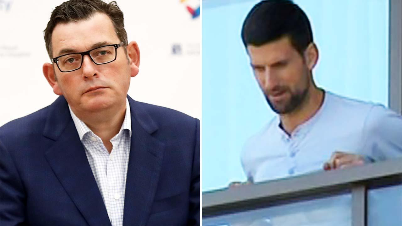 Daniel Andrews' blunt response to Novak Djokovic quarantine demands