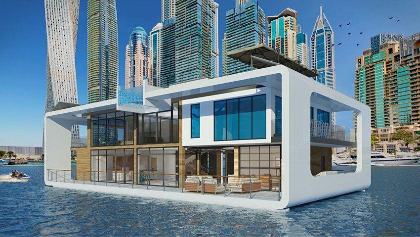 杜拜「Sea Palace」玻璃屋