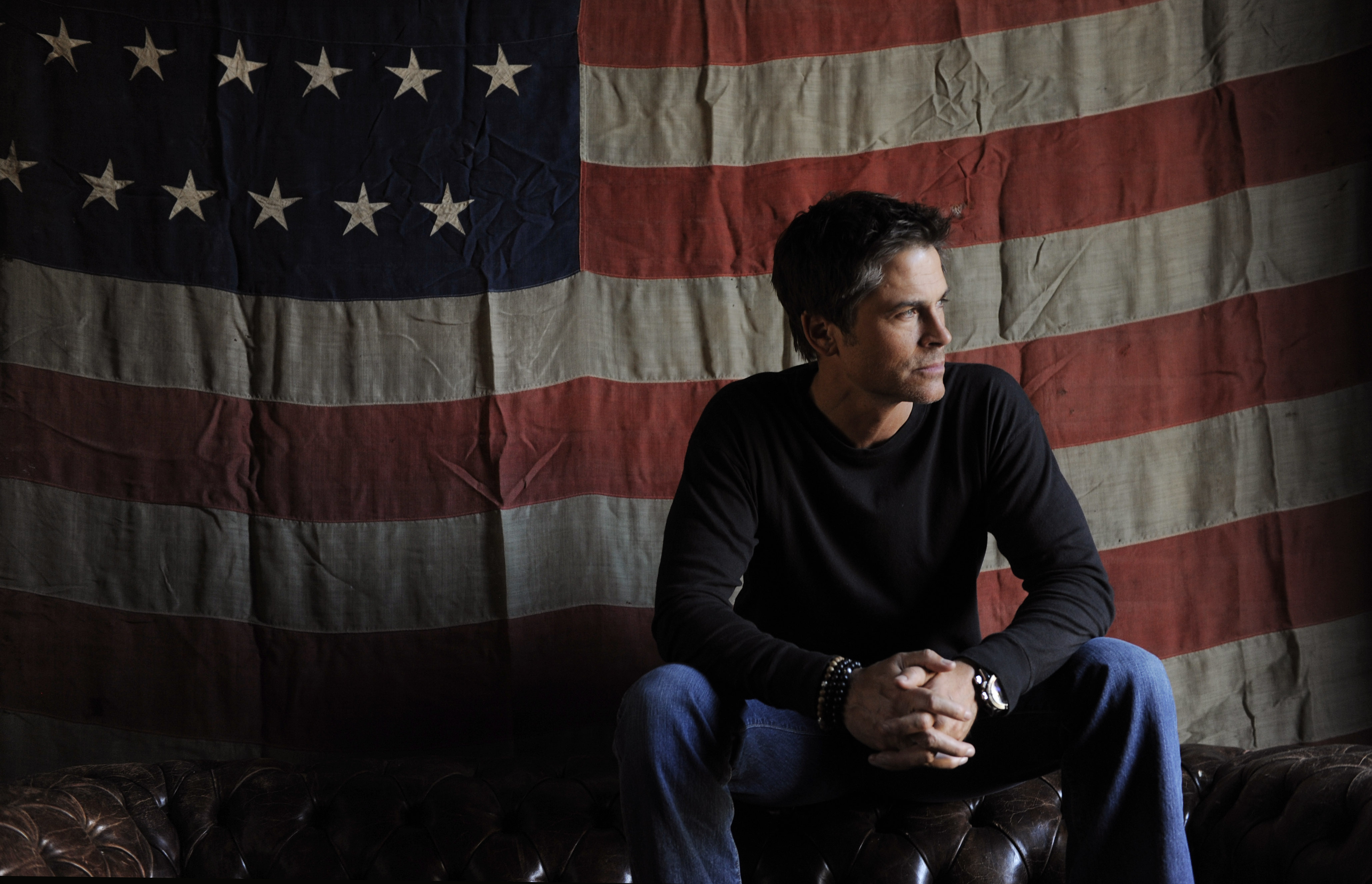 """Rob Lowe, a cast member in """"I Melt with You,"""" poses for a portrait at the Bing Bar during the 2011 Sundance Film Festival in Park City, Utah, Wednesday, Jan. 26, 2011. (AP Photo/Chris Pizzello)"""
