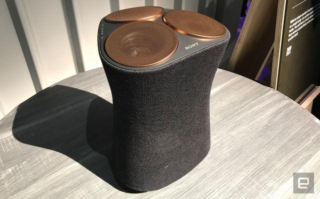 索尼360 Reality Audio原型
