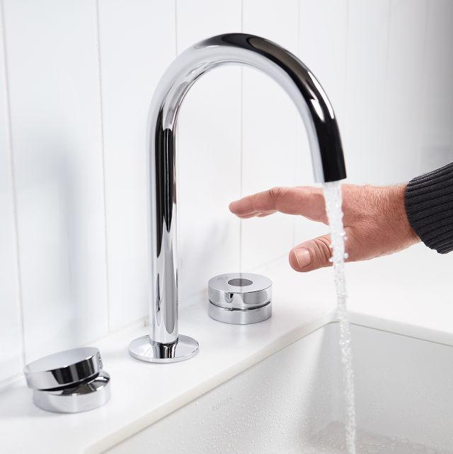 科勒非接觸式家用浴室水龍頭