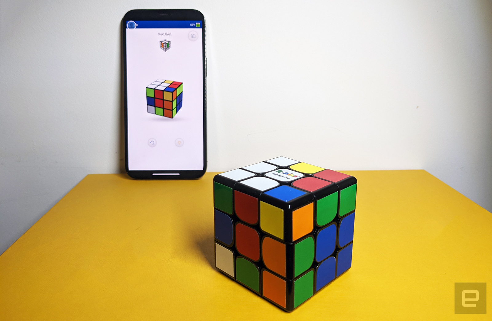 Cube and Rubik app connected