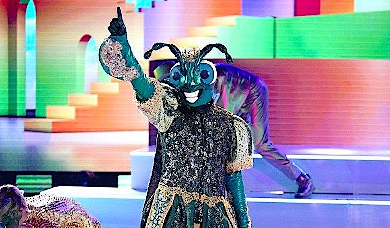 'The Masked Dancer' Cricket is a 17-time Grammy-nominated '90s singer