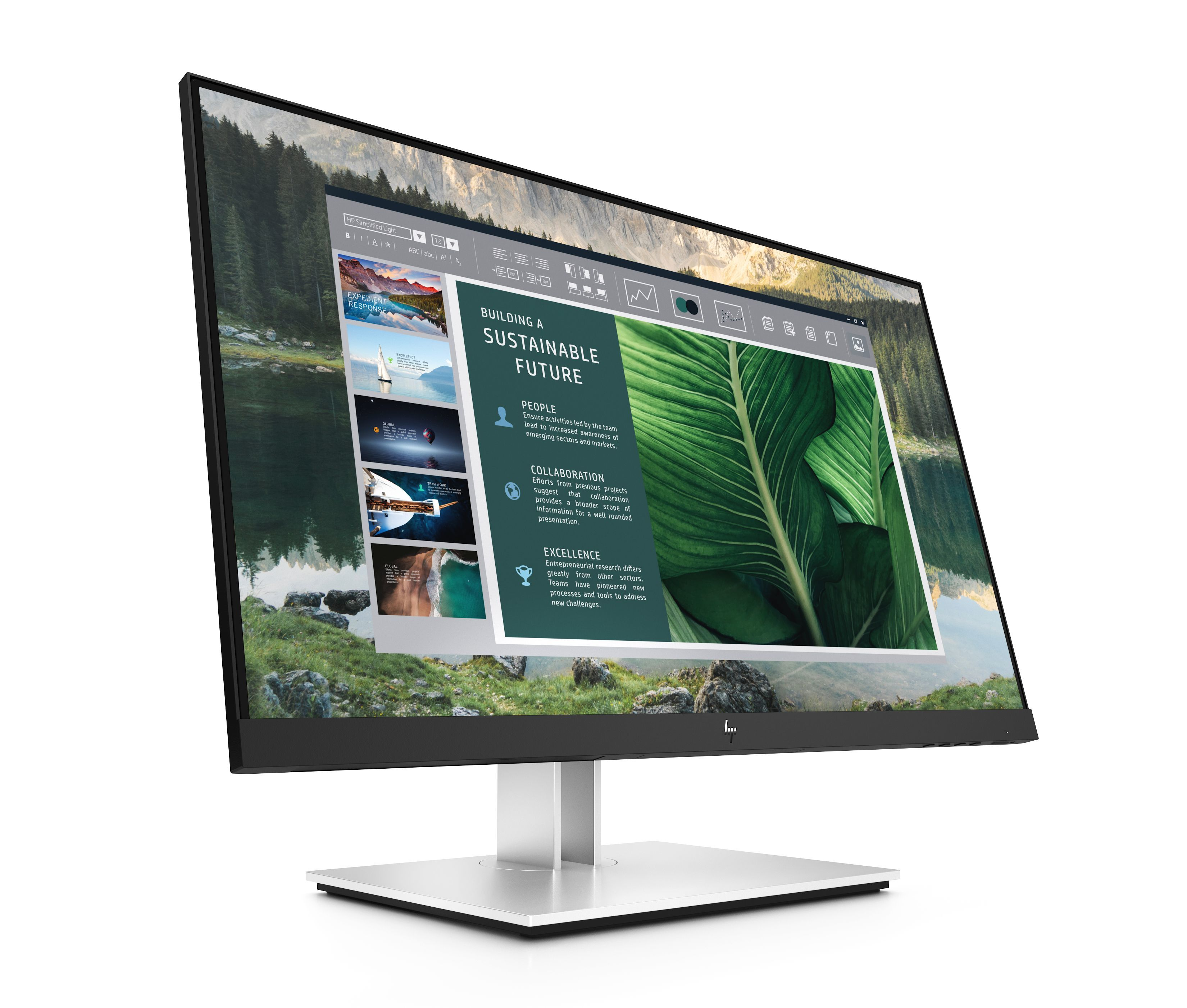 HP E series monitors