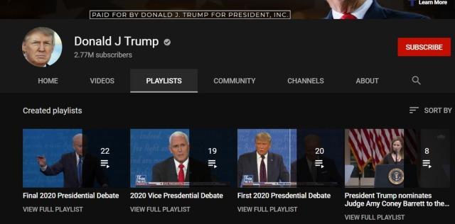 Donald Trump YouTube