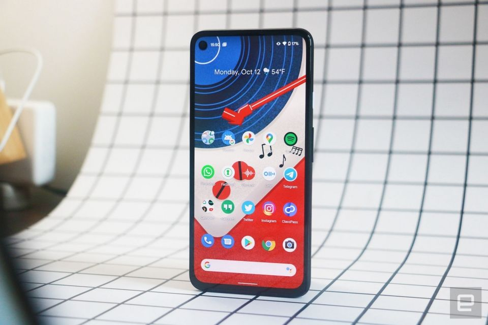 Google's Pixel 4a 5G returns to record-low price of $459