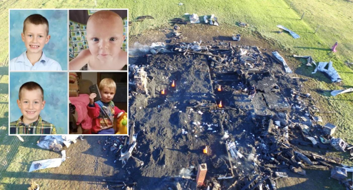 Mum, 25, kills herself and five children