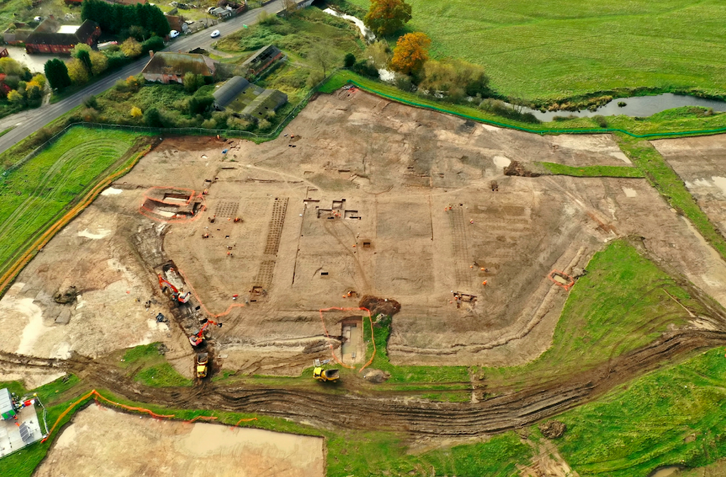 Archaeologists on HS2 line uncover grounds of perfectly-preserved 16th century manor gardens