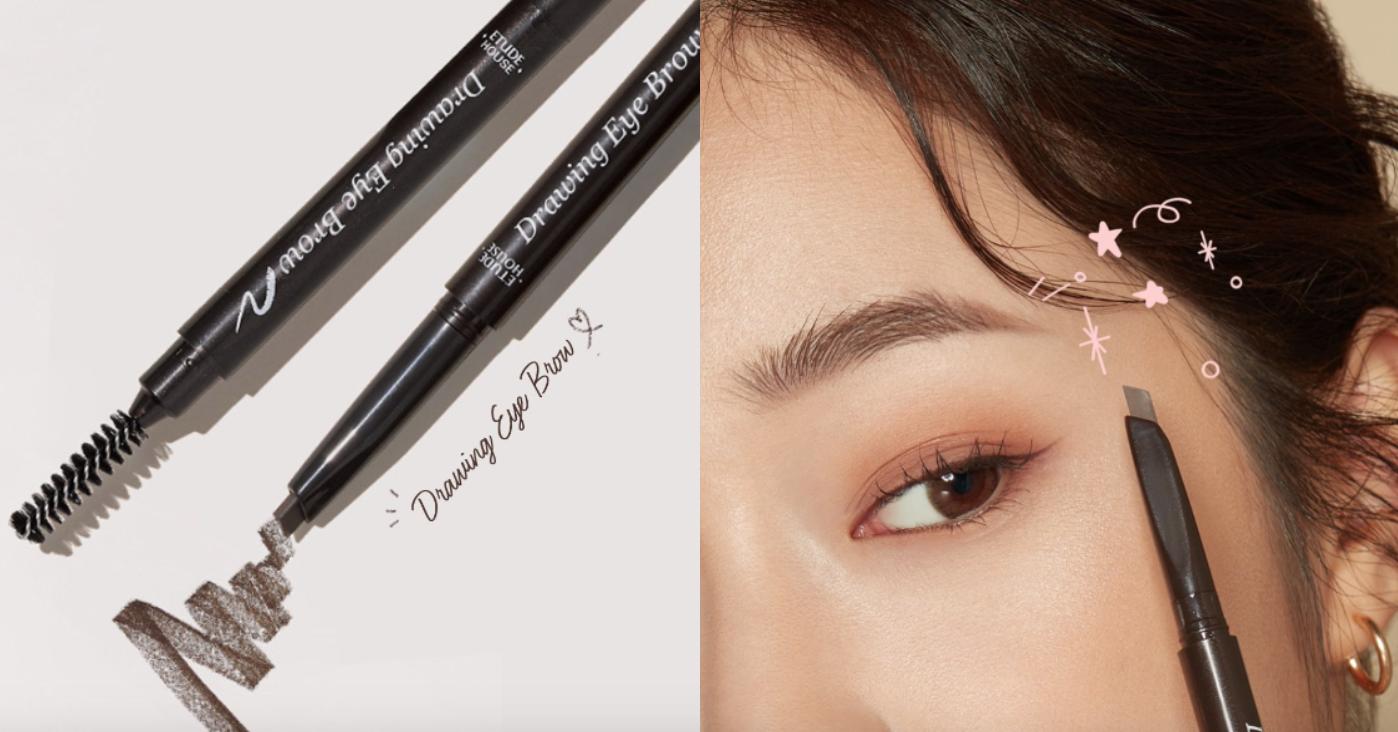 ETUDE 素描高手造型眉筆利用三角形筆型的角度,使每一根眉毛呈現乾淨俐落的形狀,含有維他命E,可賦予保濕與柔和觸感,呈現獨具個人特色的彩妝,色彩與底色的自然調和,呈現出自然的眉彩。