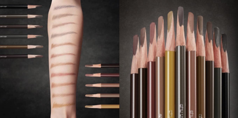 植村秀 武士刀眉筆宛如日本武士刀的筆鋒, 畫出根根分明的眉毛毛流,眉筆的完美硬度讓畫眉毛時線條描繪更精準。獨特的配方在底妝上更滑順顯色,眉筆防水抗汗,提供多種眉筆顏色色選,讓眉色能完美搭配髮色。