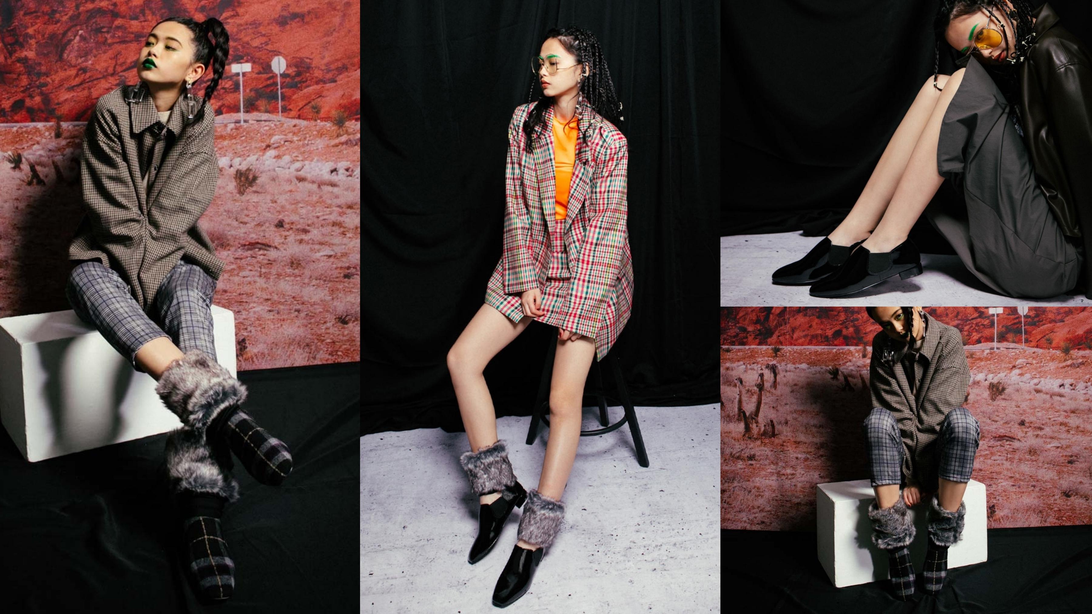 嚴選質感毛呢布面料製成,以兩穿式設計打造四季可搭的實穿性質