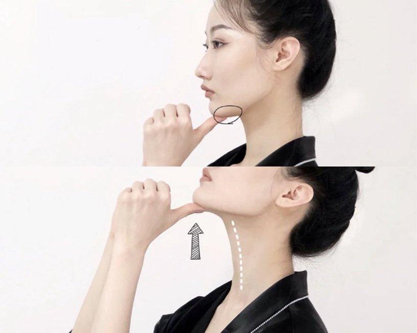 美容師親授「頸紋深」按摩技巧