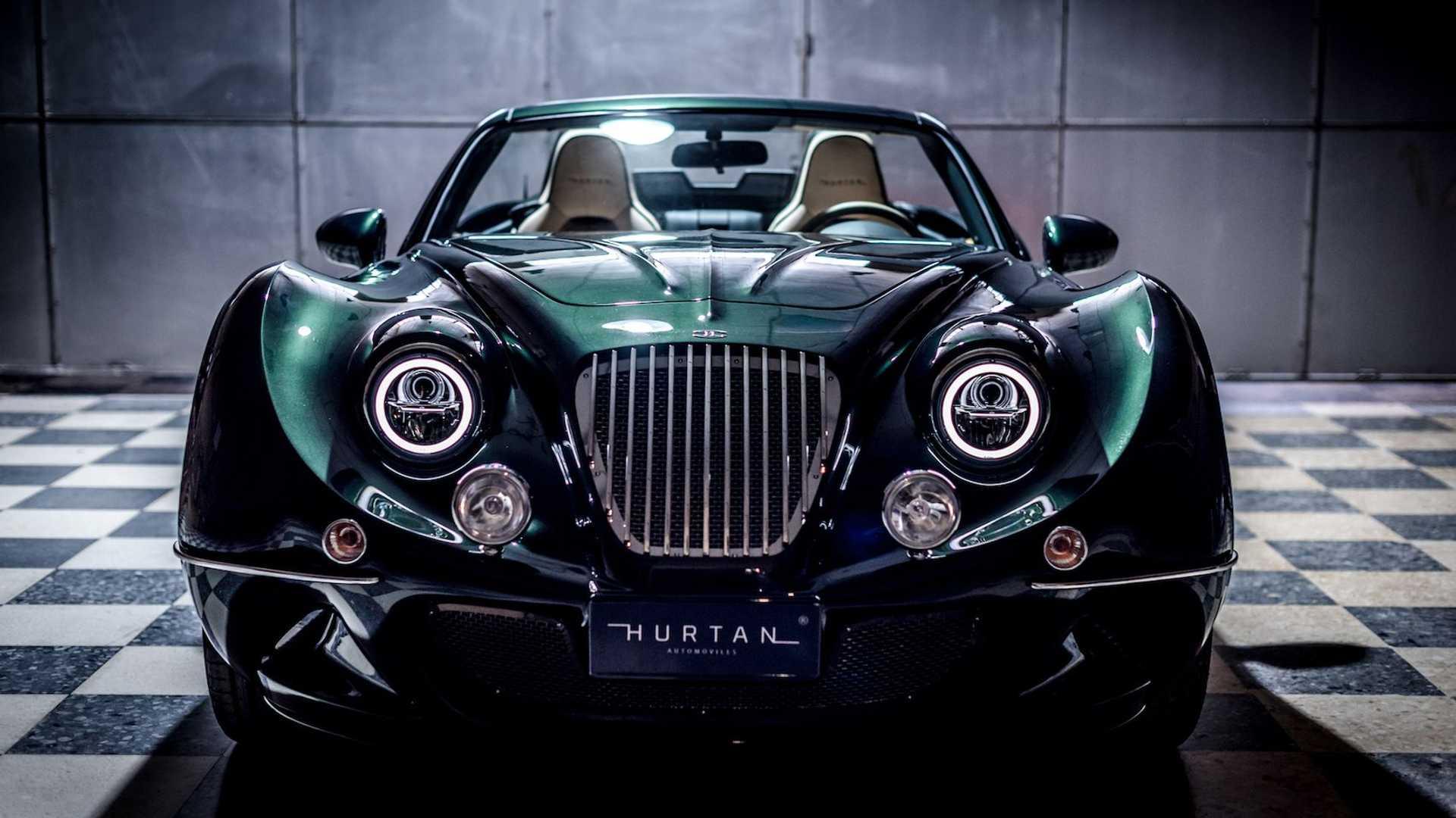 魔改 Mazda MX-5 後的 Hurtan Grand Albaycin 簡直讓時光到流回 1960 年代