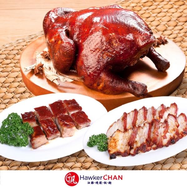 其中招牌油雞以當歸、八角、桂皮等多種中藥材,特製獨門滷汁,選用台灣優質雞肉,熬煮數小時,讓雞肉完整吸附湯汁,再於表皮塗上特選麥芽糖