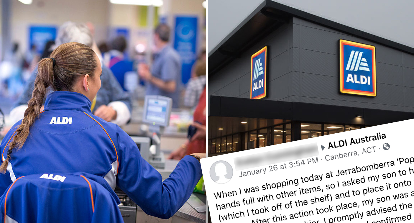 Aldi shopper opens up on 'beyond insulting' checkout problem