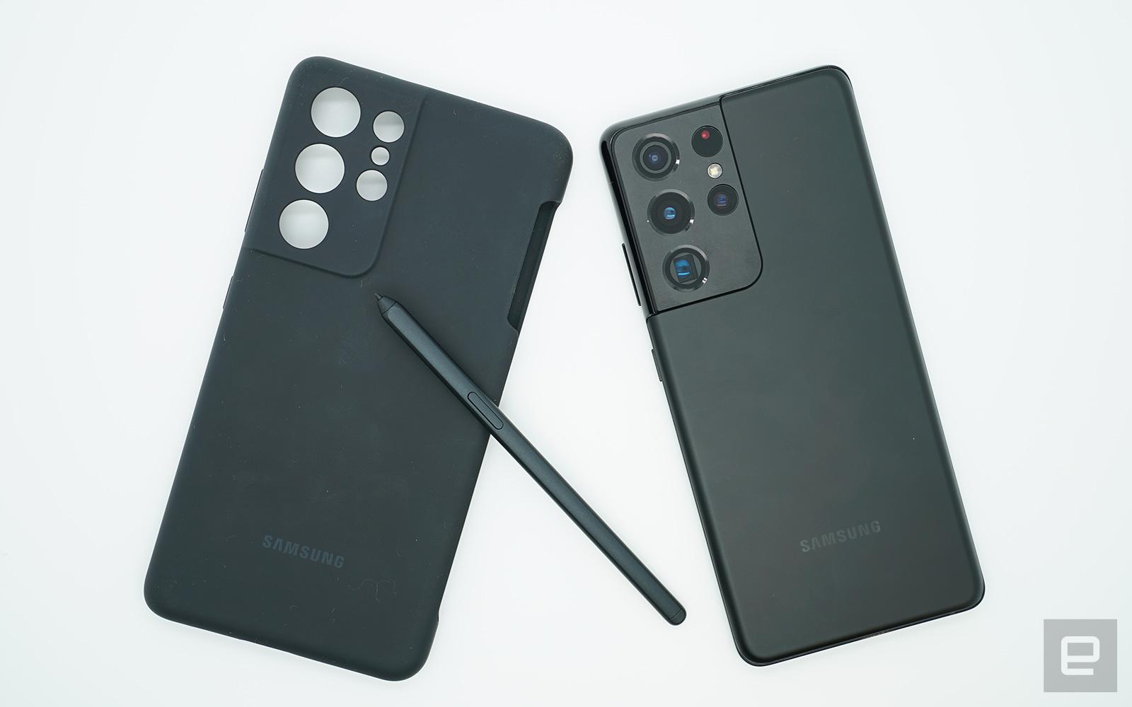 Samsung Galaxy S21 Ultra 動手玩