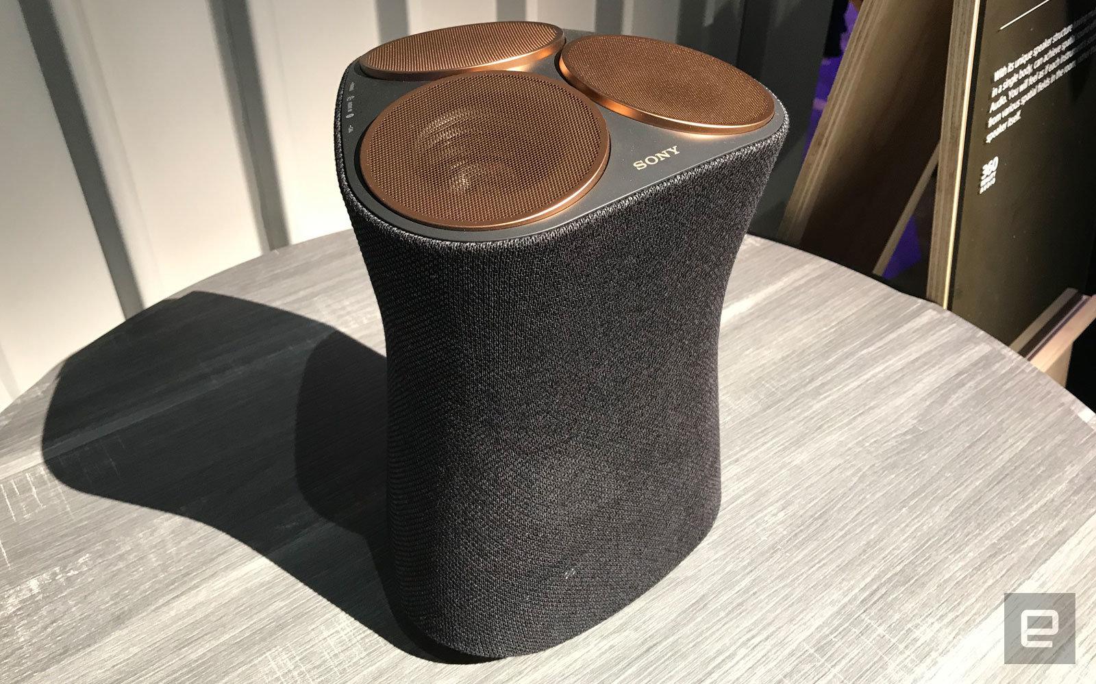 Sony 360 Reality Audio speaker
