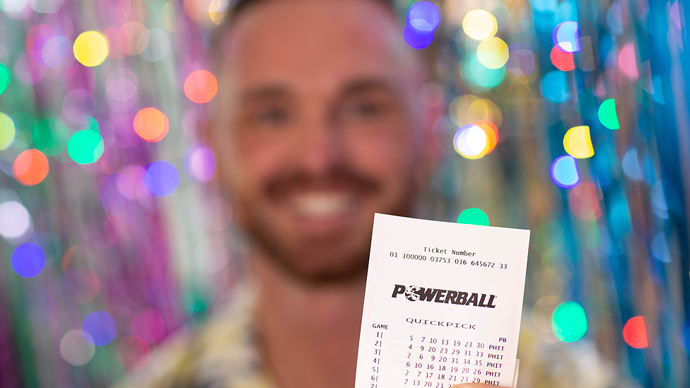Tradie's rare decision after discovering $10m Powerball win