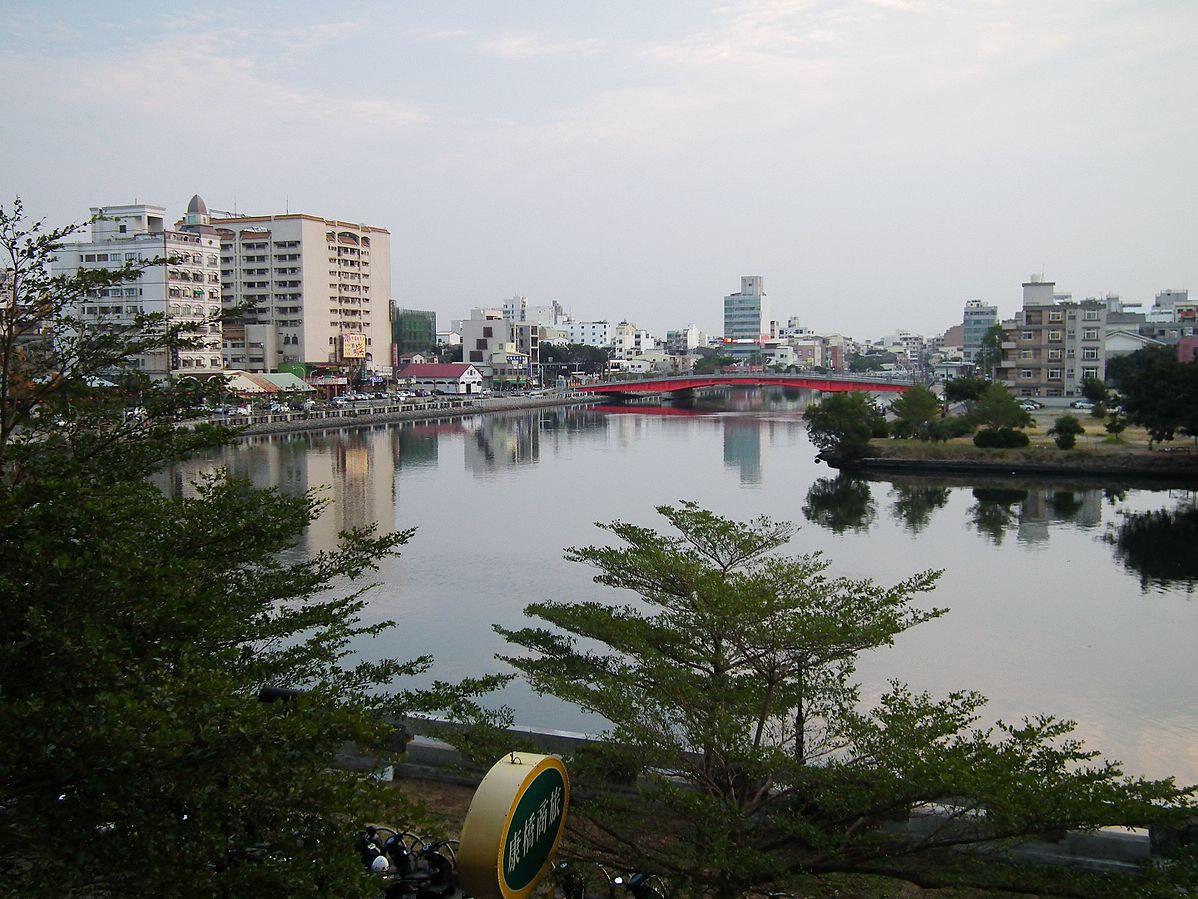 台南運河(Photo via Wikimedia, bylienyuan lee, License: CC BY 3.0,圖片來源:https://commons.wikimedia.org/w/index.php?curid=55432183)