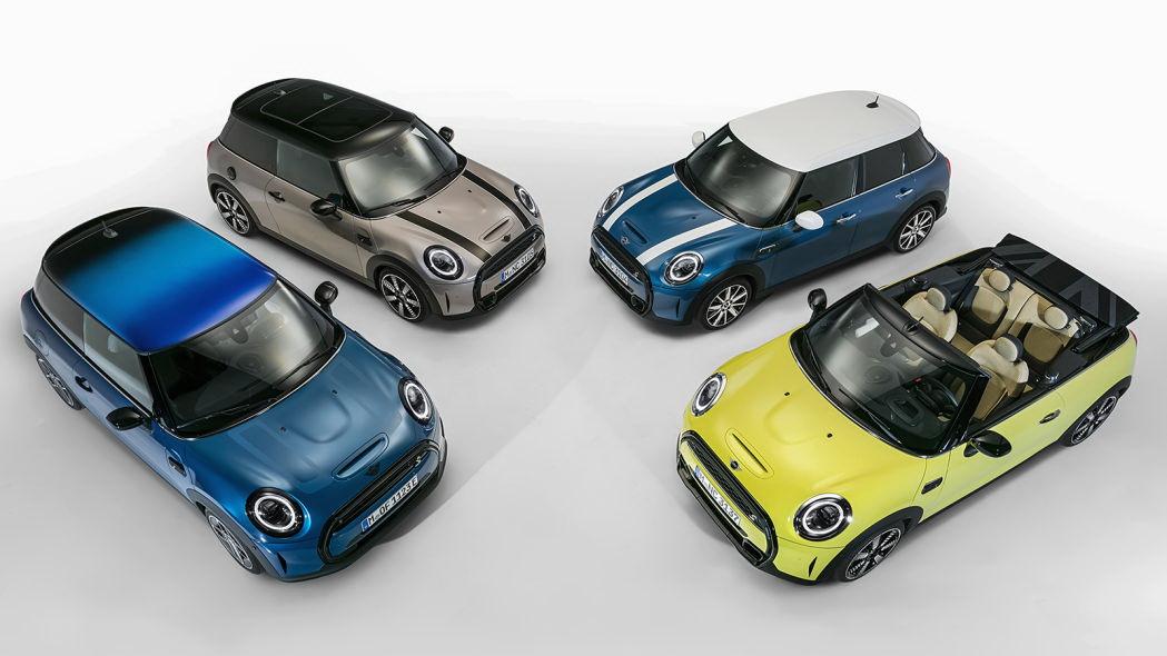 圖/更帥氣外型、更先進配備,2022 Mini Cooper全系列車款登場。