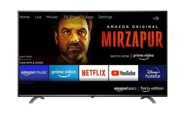 AmazonBasic fireTV