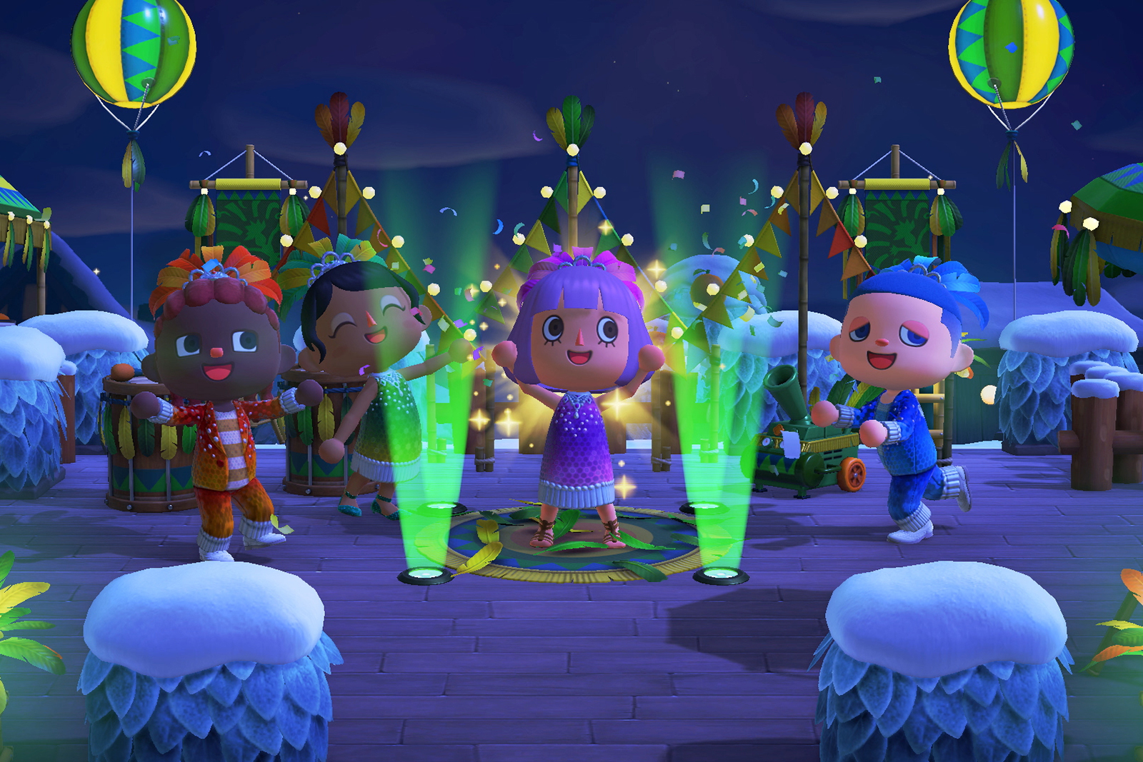 'Animal Crossing' updates send Mario and Hello Kitty to Carnival