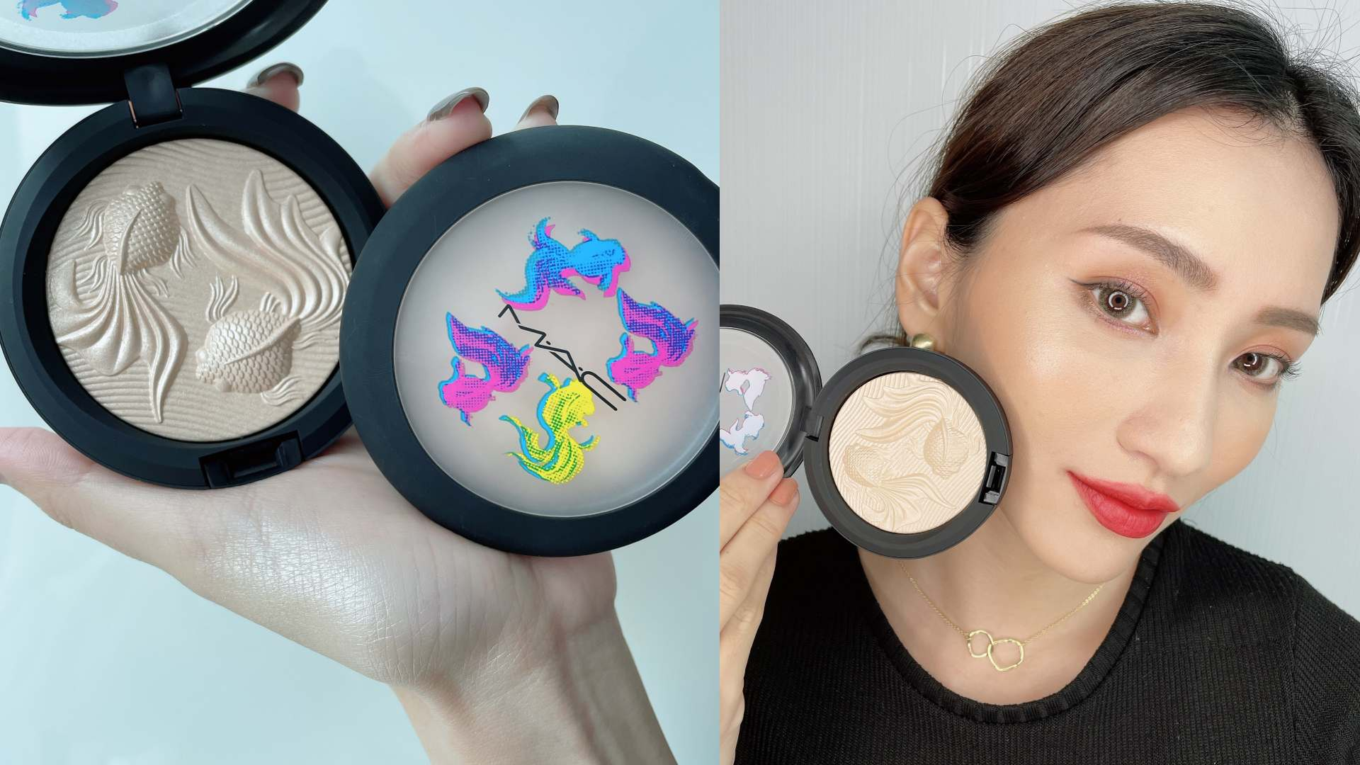 M·A·C 年年有魚普普風新年彩妝系列 超激光炫彩餅