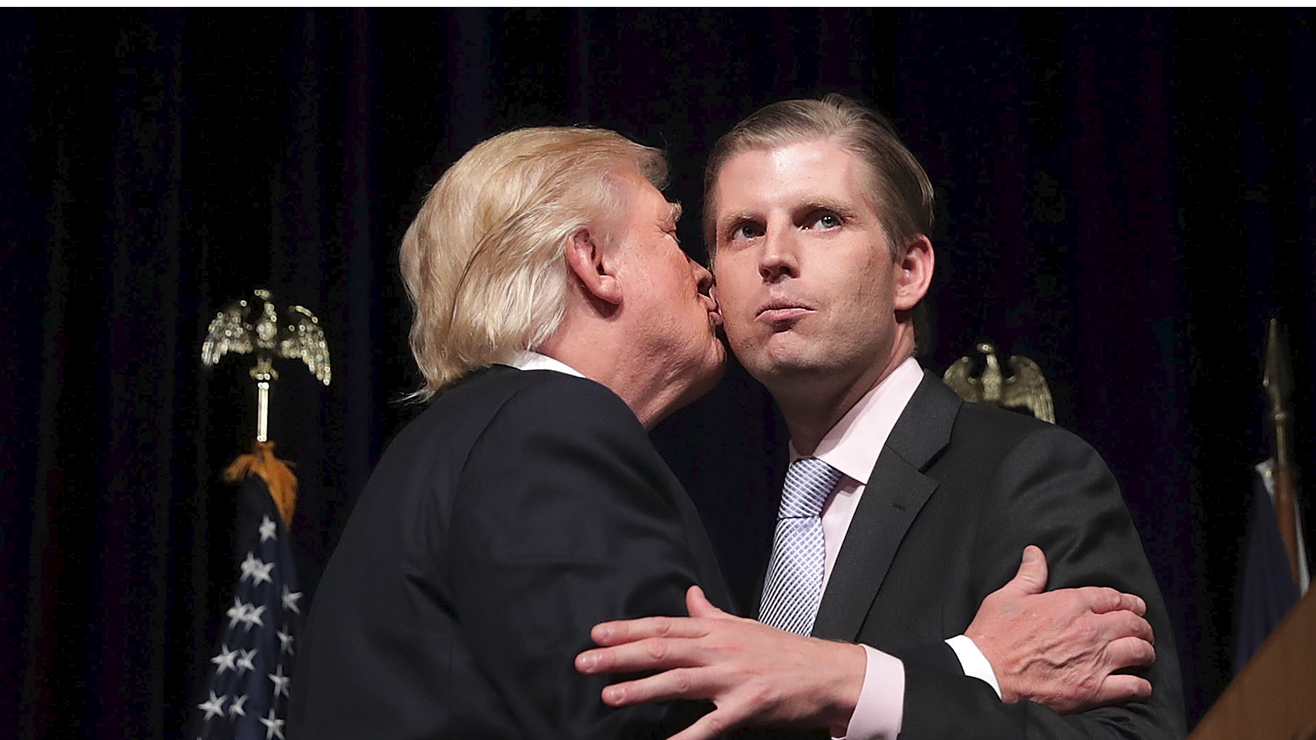 Eric Trump threatens GOP officials who don't support his dad: 'They will get primaried'