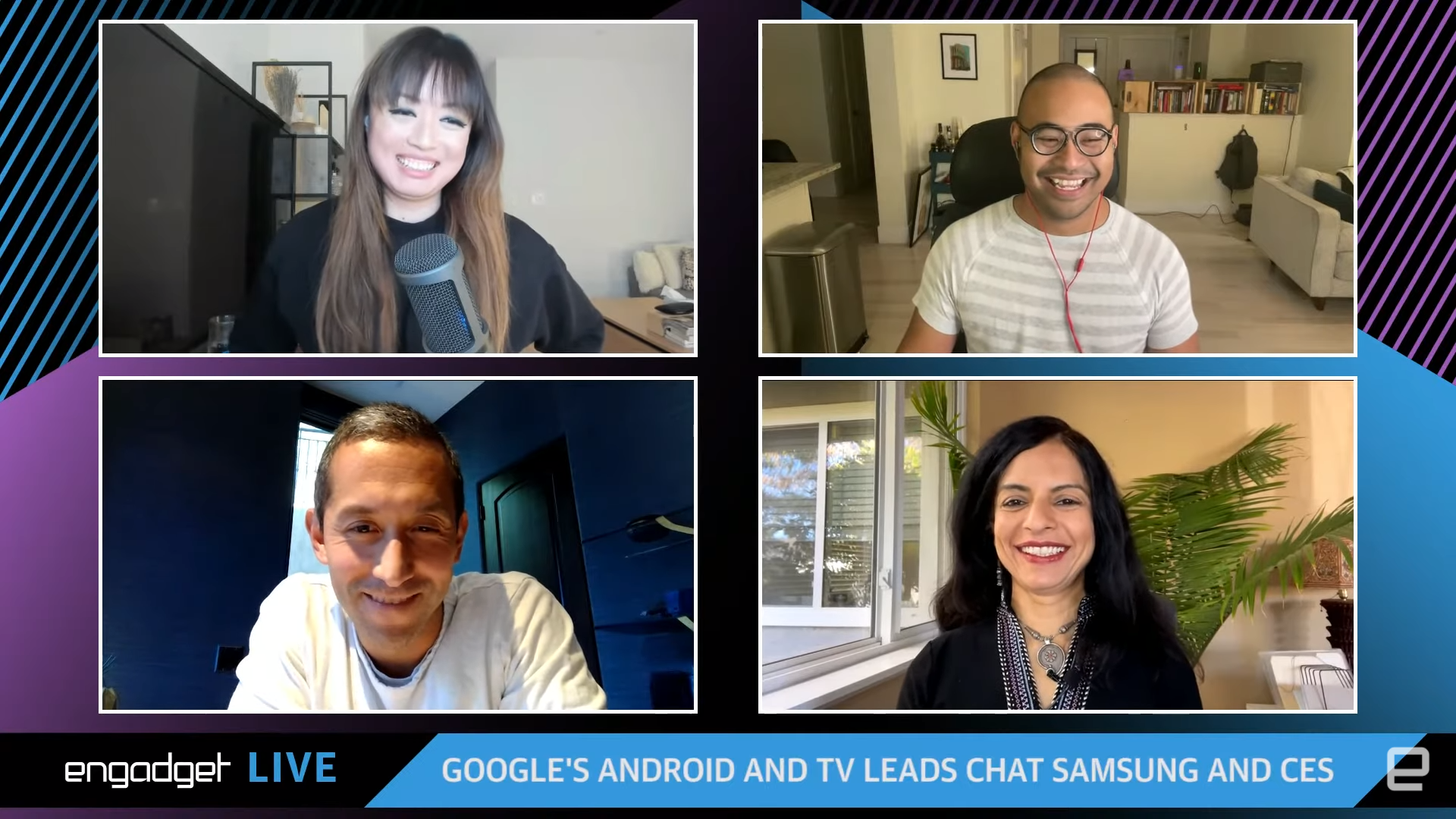 Google's Android and TV leads chat Samsung, RCS and CES
