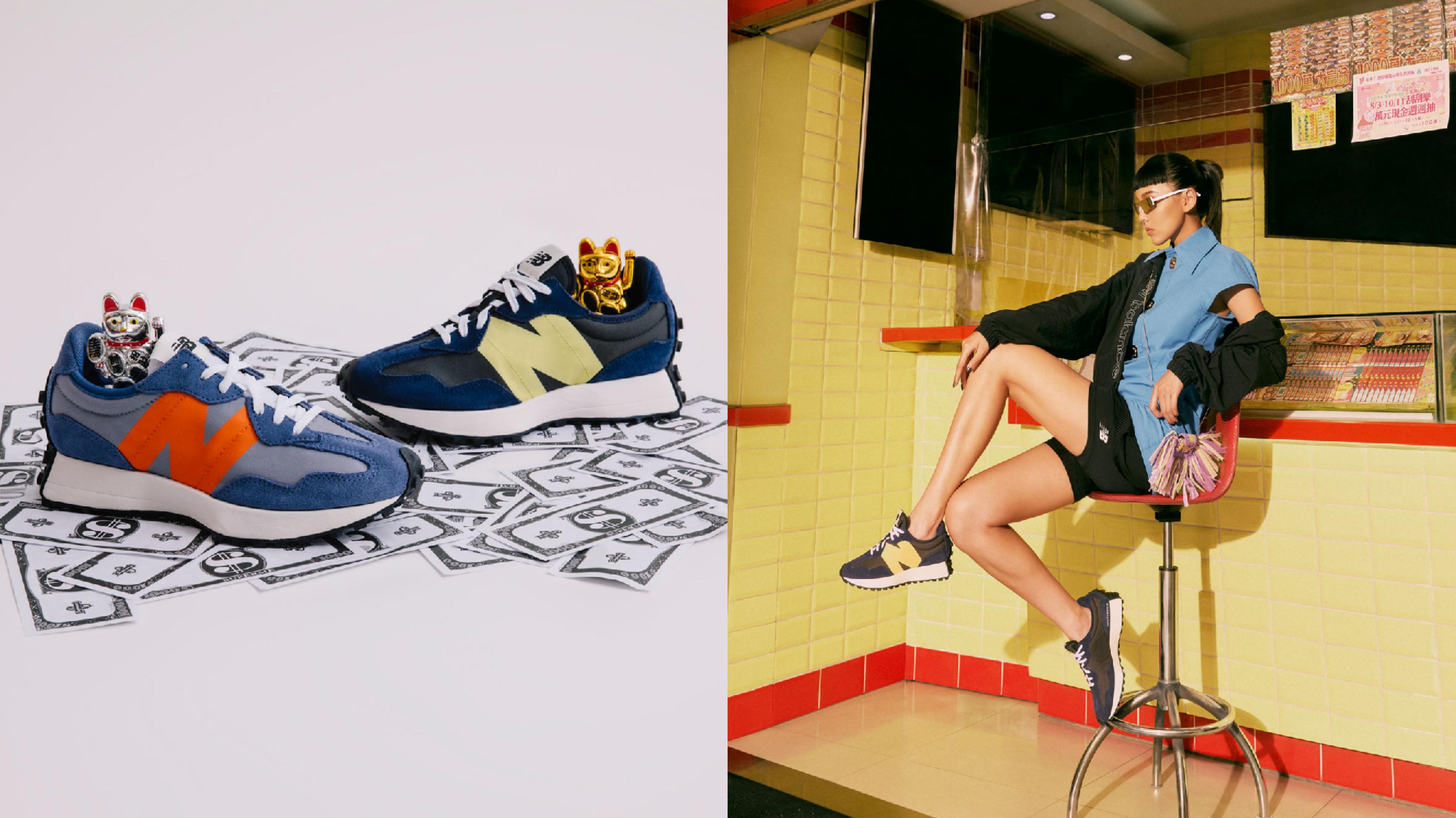 New Balance 327,NT$2980 NB的年度熱門鞋款327,是創新與復古重塑解構的美學代表作