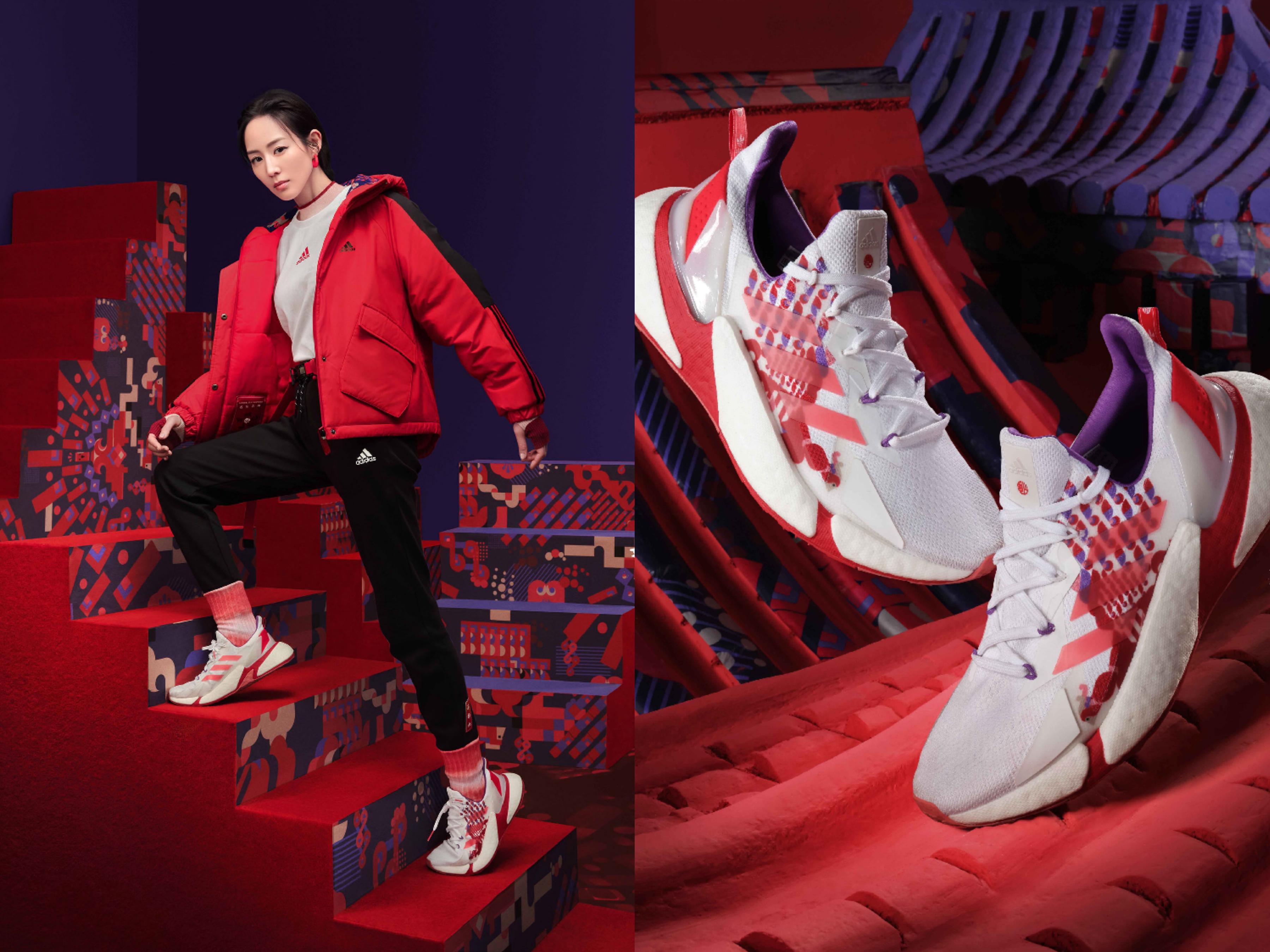 女神張鈞甯搶先上腳adidas X9000 L4,展現女力且穩紮穩打