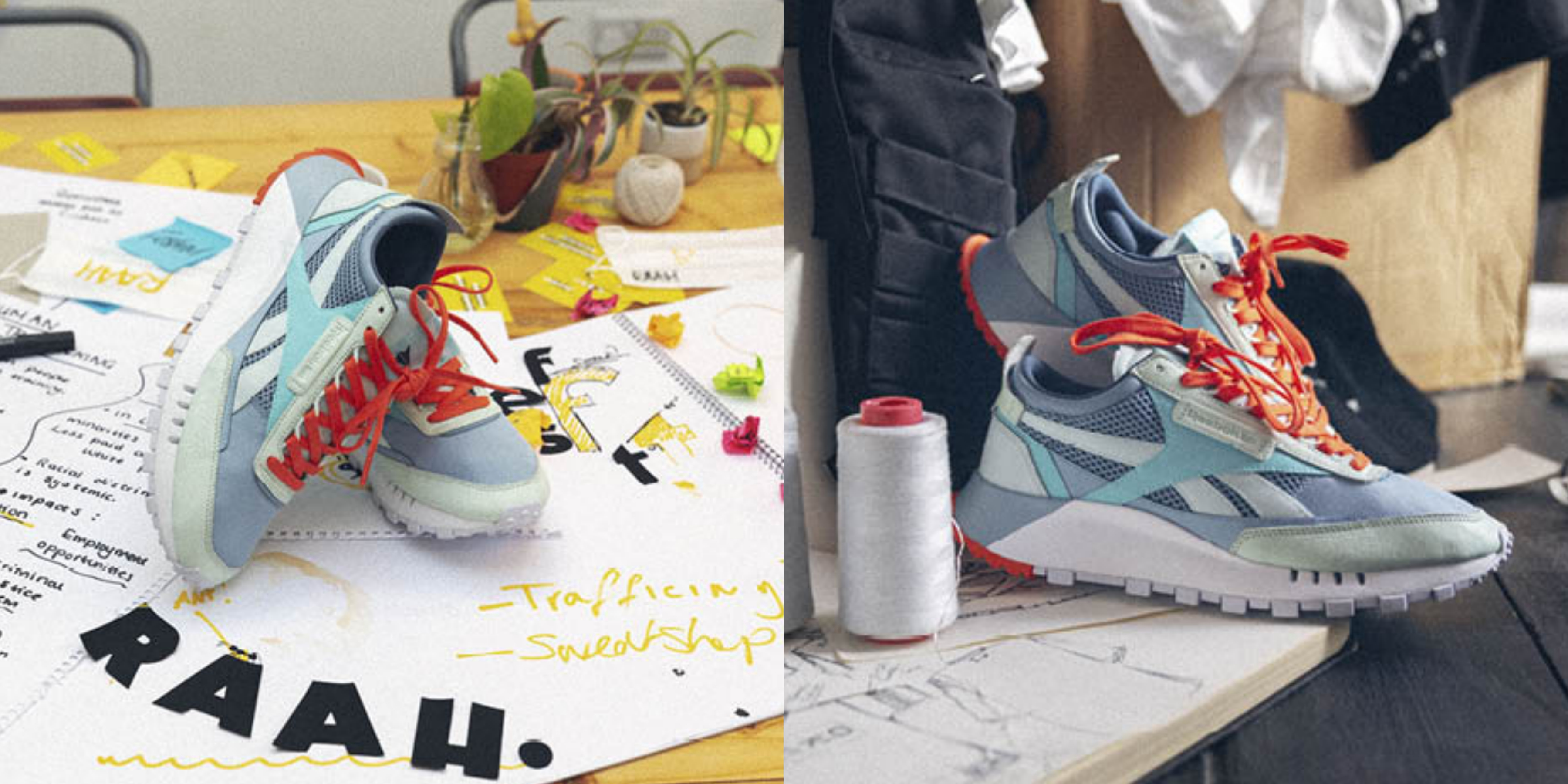 "Reebok""CL Legacy""系列,NT$2650 採用加厚EVA中底與鋸齒狀大底,兼備設計感和舒適性,為跑鞋注入潮流元素"