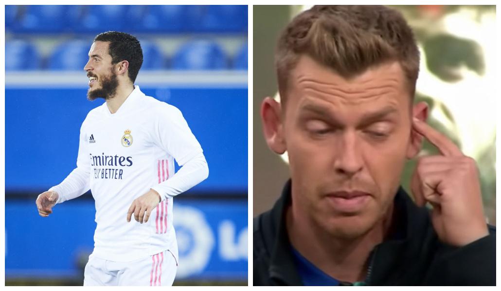 La barbaridad que ha costado cada gol de Hazard al Real Madrid: Jota Jordi, de 'El chiringuito', pone en su sitio al belga