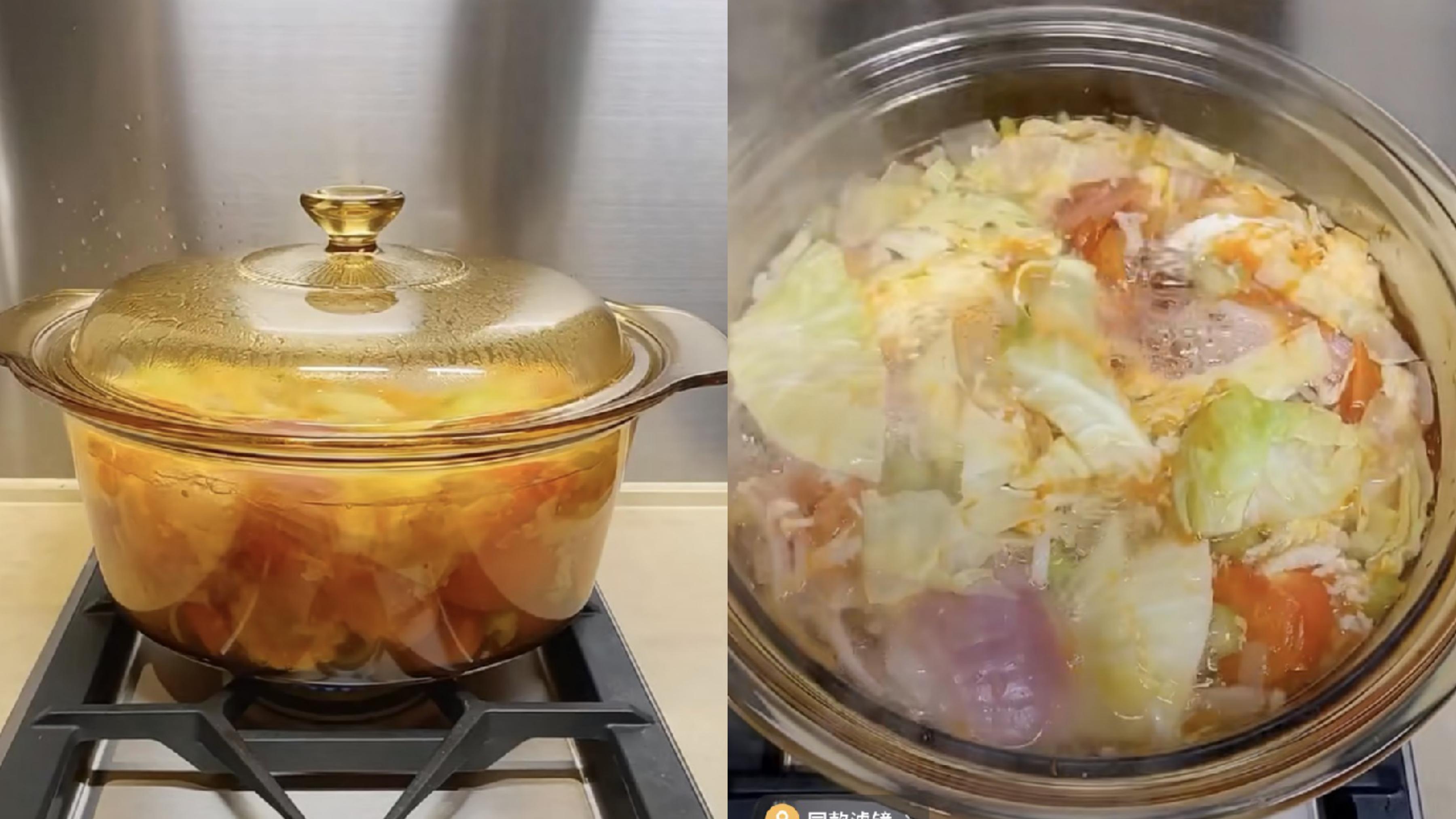 排毒蔬菜湯,清腸胃、並加強身體的新陳代謝,瞬間把所有毒素排出