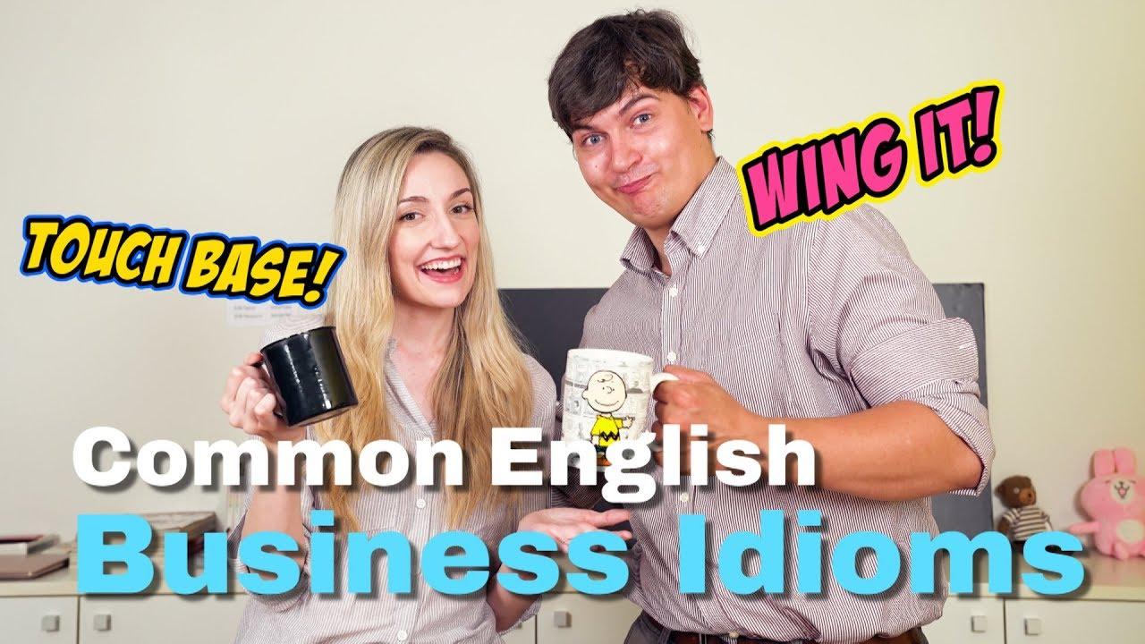 VT English   超實用!職場必備英文片語 Common English Business Idioms